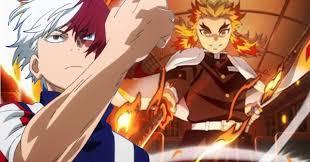 <b>My Hero Academia</b> Poster Ushers Shoto Torodoki into Demon Slayer