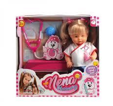 <b>Кукла NENA</b>, тм <b>Dimian</b>, ветеринар, 36 см купить с доставкой по ...
