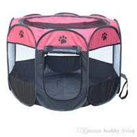pet house cute tent dog outdoor waterproof portable folding breathable pet cat 40x40x38cm