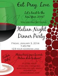 italian dinner party invitation template don huppe italian dinner party invitation template