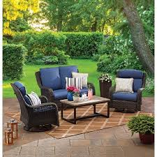 Set of 2 <b>Swivel Dining Chairs</b> Outdoor Patio Deck Seat Furniture ...