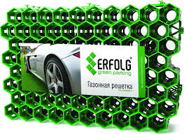 """<b>Решетка газонная Erfolg</b> """"<b>Green</b> Parking"""", цвет: зеленый, 40 х 60 ..."""