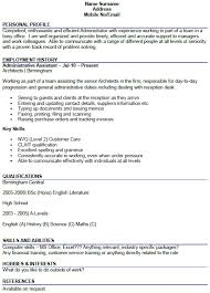 Administrator CV Example - forums.learnist.org Related: Administrator Cover Letter Example