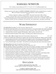 clerical assistant resume administration cv template gallery of clerical resume sample