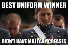 best uniform winner didn't have military creases - Cadet World ... via Relatably.com