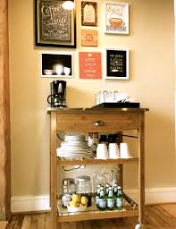 its slowly coming together and i wanted to share one of my favorite diy projects so far our tea coffee station the only thing missing is our little unique diy coffee station