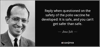 「Jonas Salk (1914-95)」の画像検索結果