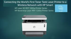 <b>HP Neverstop Laser MFP</b> 1200w 1005 Connect and use in a ...