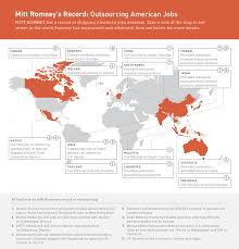mitt romney s record outsourcing american jobs