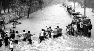 Image result for mumbai floods 2005 mumbai  airport under water