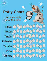 best images of frozen potty chart printable frozen frozen potty training chart