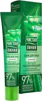 <b>Чистая Линия</b> Фитотерапия Дневной <b>крем</b> для лица Легкий ...