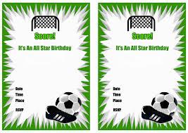 printable soccer birthday party invitations home party ideas printable soccer birthday party invitations