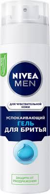 <b>Гель для бритья NIVEA</b> For Men д/чувств. кожи – купить в сети ...