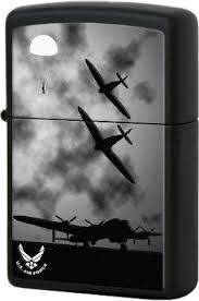 28510 <b>Зажигалка Zippo U.S.</b> Air Force B-17s, Black Matte