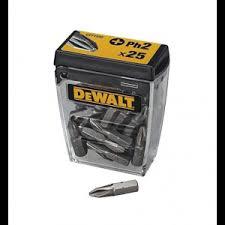 Купить <b>DEWALT DT71522 набор бит</b>, PH2 x 25 мм, 25 шт.. Цена ...