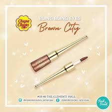 Fondnfound_official - <b>Chupa Chups Bling Bling Eyes</b> Glitter Liquid ...