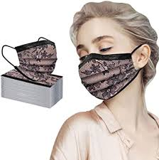 50/<b>100PCS</b> Women Three Layer Bandanas <b>Fashion Lace</b> ...