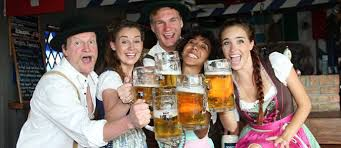 Image result for happy german beer drinkers