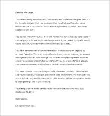 termination letter due to lack of work sample write termination letter