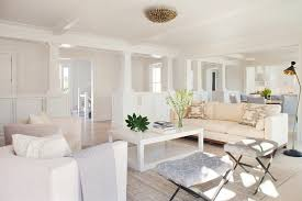 woodbine inspiration for a transitional formal open concept living room remodel in providence with white walls all white furniture design