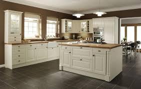 cream distressed kitchen cabinets home design great