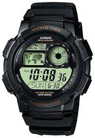 Наручные <b>часы CASIO AE</b>-1000W-<b>1A</b> — купить по выгодной цене ...