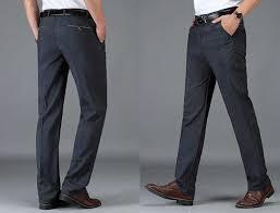 2019 Men's <b>Spring</b> Autumn <b>Fashion Business</b> Casual Long Pants ...