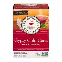 Traditional Medicinals <b>Seasonal Teas Gypsy Cold</b> Care Tea Bags ...