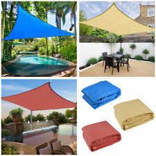 <b>Triangle Waterproof</b> Garden & Patio <b>Shade</b> Sails for sale | eBay