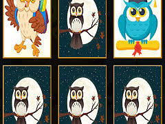 <b>Cute Owl</b> Memory - free online game
