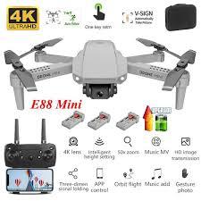 <b>E88 Mini Quadcopter</b> Aerial Photography Drone with WIFI FPV GPS ...