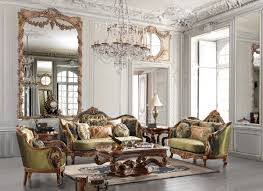 image living room sage  formal living room interior design with leather couches classic livin