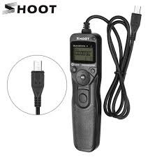 pixel tw 283 shutter release wireless timer remote control for canon sony samsung nikon d3400 d7200 d7000 d5300 camera
