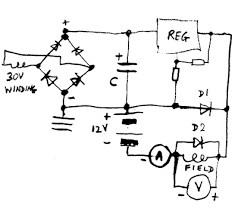cr4 thread how to build an avr for a three phase generator? on simple auto wiring diagram 12v