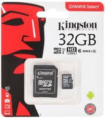 Купить <b>Карта памяти</b> Kingston microSDHC 32 ГБ [SDCS/<b>32GB</b>] по ...