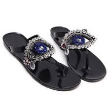 <b>Laura Biagiotti</b> Special Nabuk Black Floral <b>Sandals</b>. Designer ...