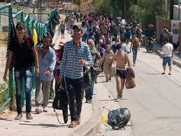 Αποτέλεσμα εικόνας για πρόσφυγες στην ελλάδα
