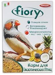 <b>FIORY</b> корм для экзотических птиц Esotici 400 г / Mixture Exotics ...