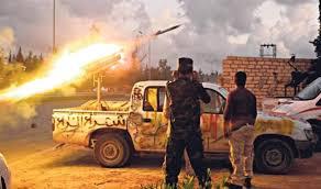 ليبيا - هجوم صاروخي على مركز طبي في مدينة بنغازي