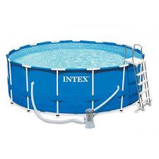 Каркасный <b>бассейн Intex Metal Frame</b> 457х122 см 28242 Артикул ...