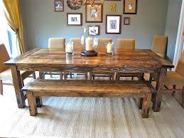 charm diy farmhouse dining table