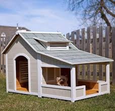 DIY  Tiny Doghouse   Crafthubslooks like a small house diy dog houses ideas Dog Breeders Guide