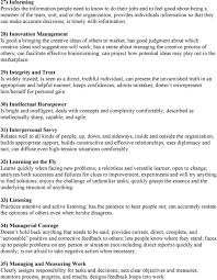 lominger standard 67 competencies and related descriptions pdf 28 innovation management is good a bringing the creative ideas of others to market