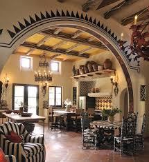 hacienda kitchen indeed decor achieve spanish style room