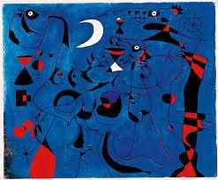 Resultado de imagen para joan miró Vuelo de pájaro al Claro de Luna