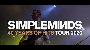 <b>Simple Minds</b> - <b>40</b> Years of Hits Tour 2020 - YouTube
