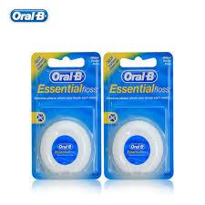 Интернет-магазин <b>Зубная нить Oral B</b> Essential, вощеная нить ...