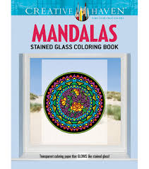 adult coloring books coloring books for adults jo ann adult coloring book creative haven mandalas stained glass