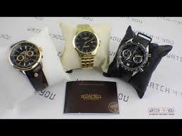 Обзор <b>часов</b> марки <b>Roamer</b> от Watch4You - YouTube